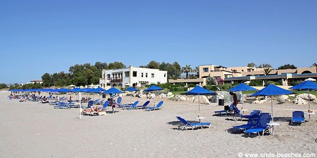 Adelianos Kampos beach