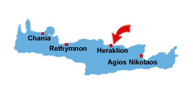 Amnissos map