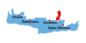 Hersonissos map