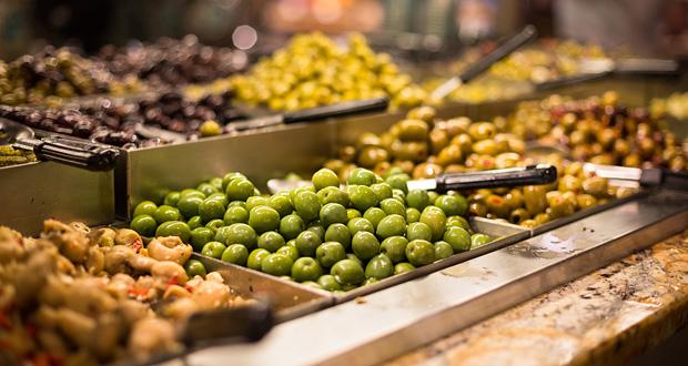 Kreta Markt Oliven